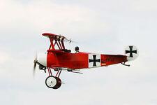FOKKER DR I, Jagdflugzeug. Modellbauplan RC 1:6