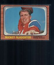 1966 TOPPS DENVER BRONCOS MICKEY SLAUGHTER 43 Excellent Card! 275