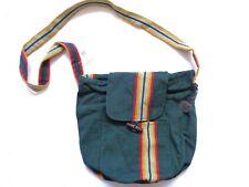 New Ralph Lauren Denim & Supply Southwestern Green Canvas Crossbody Bag Purse