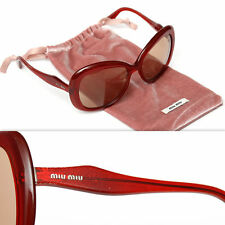 $435 MIU MIU by PRADA Ladies RUBY SUNGLASSES w/ Bag