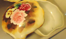 VINTAGE COVERED BOWL FOR JEWELRY..BY McCLURG....JAPAN...LOVELY PORCELAIN