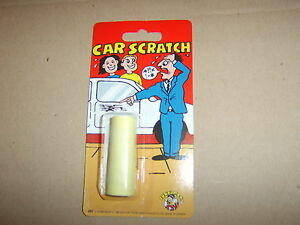 Car Scratch Sticker. Great Classic Joke Trick.Guaranteed delivery by Royal Mail