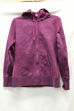 The North Face Womens Zip Up Sweater Size Medium Purple Excellent Used Condition