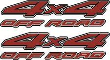 1997 - 2013 4x4 Off Road Decals for Nissan Frontier Pickup Truck Vinylmark
