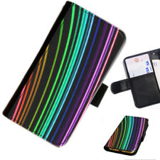 Rainbow Mobile Phone Wallet Cases for Lenovo