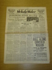 MELODY MAKER 1935 FEB 2 LOUIS ARMSTRONG JACK HYLTON FORESYTHE BIG BAND SWING