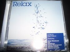 Relax Various 2 CD (Groove Armada Zero 7 AIR Goldfrapp The Orb Morcheeba)