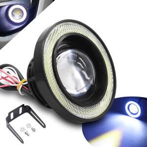 89mm LED Car Fog Driving Lamp White Daytime Running Light Motorcycle Headlight