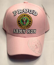 PROUD ARMY MOM Pink Ball Cap Unique MISTAKE Hat Marine WIFE or Mom EG&A on Bill