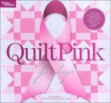 Quilt Pink for Hope  BREAST CANCER by Better Homes & Gardens 50 Blocks