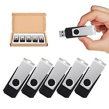 5LOT 32GB Folding USB 2.0 Flash Drive Memory Stick Thumb Pen Drive Storage Case
