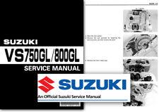 Suzuki VS750 VS800 Intruder Workshop Service Shop Manual VS 750 800 GL 1985 2002