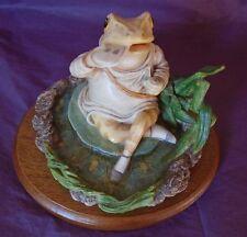 "Beswick Studio Sculpture Beatrix Potter RARE LARGE ""JEREMY FISHER"" GOLD LABEL"