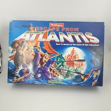 Vintage 1996 Escape From Atlantis Board Game By Waddingtons - 100% Complete!