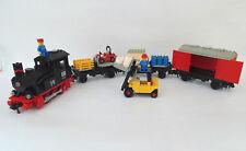 LEGO Eisenbahn 12V 12 Volt Dampflok, Lok (7727) mit BA 100% komplett TOP