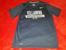 Villanova Wildcats Basketball Nike Dri Fit Elite Medium T Shirt New