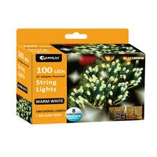 Sansai 100 LED Electric Lumini Decorative/Christmas String Lights Warm White