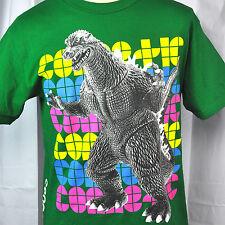 Godzilla Kaiju Toy Connetic Mens T-Shirt Medium Monster Green Older Oop Skate