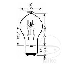 For Honda CBR 125 RS Repsol 2006-2007 JMP BILUX Bulb 12V 35/35W