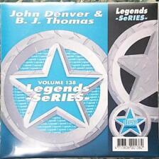 LEGENDS KARAOKE CDG JOHN DENVER & BJ THOMAS COUNTRY OLDIES #138 17 SONGS CD+G