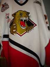 2006 WHL PRINCE GEORGE COUGARS JESSE DUDAS GAME WORN HOCKEY JERSEY LOA