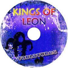 KINGS OF LEON BASS & GUITAR TAB CD TABLATURE GREATEST HITS BEST OF ROCK MUSIC