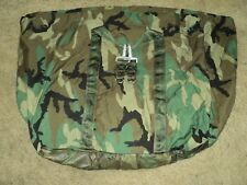US MILITARY ISSUE WOOLDAND AERIAL CARGO DELIVERY ROLL CASE BAG