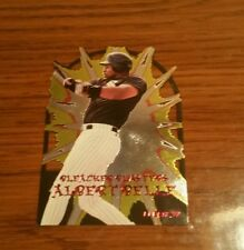 1997 Fleer Bleacher Blasters Die Cut Albert Belle SP