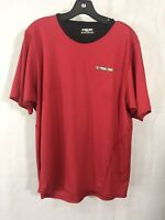 Pearl izumi L Jersey Cycling Bike Size M Red Black Top Shirt Athletic Wear