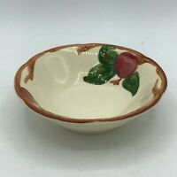 """Vintage Franciscan Apple 6"""" Coupe Cereal  Bowl Interspace USA Stamp Excellent!"""
