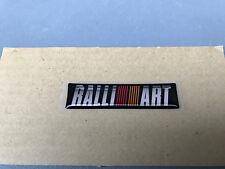 Mitsubishi Ralliart Heckklappe Emblem Logo Symbol Badge Nameplate Sticker