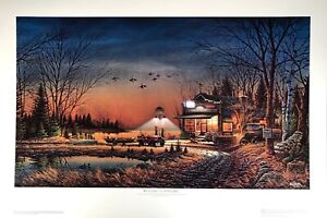"""Terry Redlin's """"Welcome to Paradise"""" sold-out original limited-edition print"""