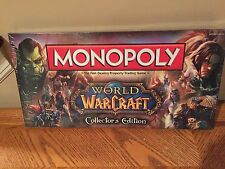 Monopoly Board Game World of Warcraft Edition Sealed Never Played RARE