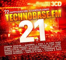 CD Technobase.FM Vol.21 von Various Artists 3CDs