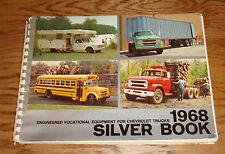 Original 1968 Chevrolet Truck Silver Book Dealer Album 68 Chevy