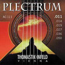 THOMASTIK PLECTRUM AC111 BRONZE 11 - 50 ACOUSTIC GUITAR STRINGS LIGHT - Vienna