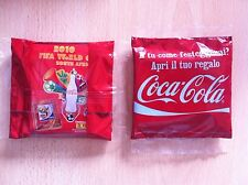 1 X Bustina Packet Sealed in BOX PANINI Fifa SOUTH AFRICA 2010 COCA COLA