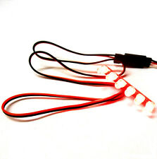 L-013 1/10 Scale Racing Car / Truck Body Shell Tail Light Kit 6v JR 6 LED Red