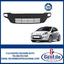 FIAT PUNTO EVO dal 2009 al 2012 Modanatura paraurti anteriore nero lucido