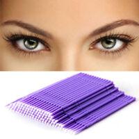 100 Stück Swab Micro Brush Einmal Microbrush Applikatoren Wimpernverlängerungen