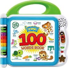 Leapfrog LEARNING FRIENDS 100 WORDS BOOK Electronic Speaking Child'S Toy BN
