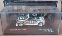 """DIE CAST """" RENAULT 5 MAXI TURBO RALLYE DE VAR - 1986 """" SCALA 1/43"""