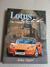Lotus Elise The Complete Story by John Tipler VGC FREE POST Design Development