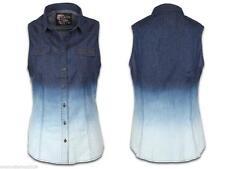 Locker sitzende ärmellose Damenblusen, - tops & -shirts im Blusen aus Baumwolle