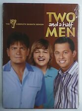 Two and a Half Men: The Complete Seventh Season (DVD, 2010, 3-Disc Set) >NEW<