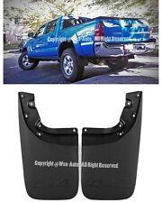 For 05-15 Toyota Tacoma Rear Set Mud Flaps Splash Guard Left + Right Kit
