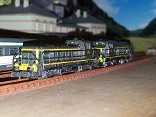 ROCO 2 locomotives diesel BB 63000 SNCF échelle N en boîte dont une motorisée.