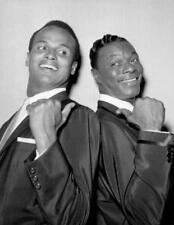 PHOTO - Harry Belafonte and Nat King Cole 1957
