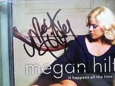 Megan Hilty It Happens All the Time cd signed booklet autographed Wicked SMASH