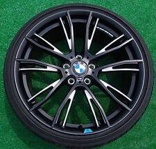"""BMW F30 F31 F32 F33 3 & 4 SERIES STYLE 624 20"""" MATT BLACK PERFORMANCE RIMS OEM"""